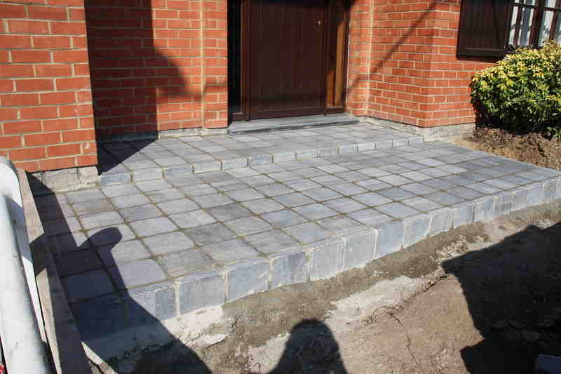 fixed, carrelage, pavage, exterieur